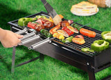 Grill Portable Steel Foldable Practical     jolfirpor