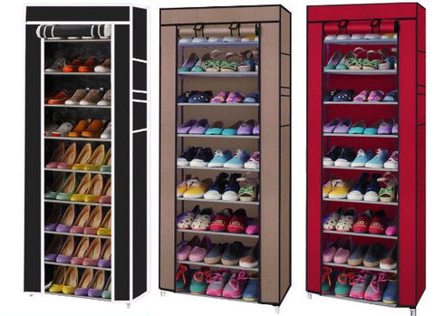 Shoe Storage Durable Plenty Space With Cover or not
