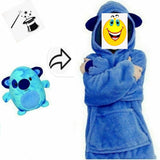 Soft Warm With Pocket And Hoodie for kids small size JOLkid2021