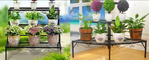 Garden Flowers Stand Storage Items Storage plants  jollouki