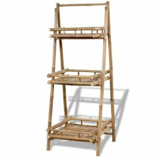 Natural Materials Storage Display Rack Stand Handmade Bamboo jolmakos
