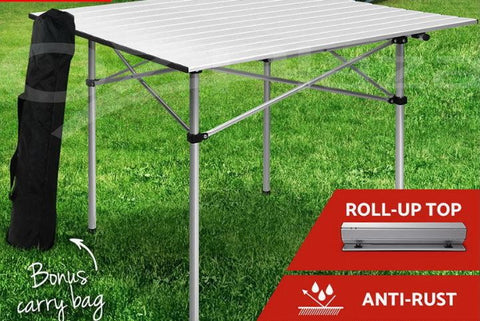 Portable Table Practical ROLL and FOLD and in the bag 70cm