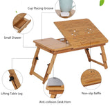 Table Portable Table Stand Adjustable Wooden ver2