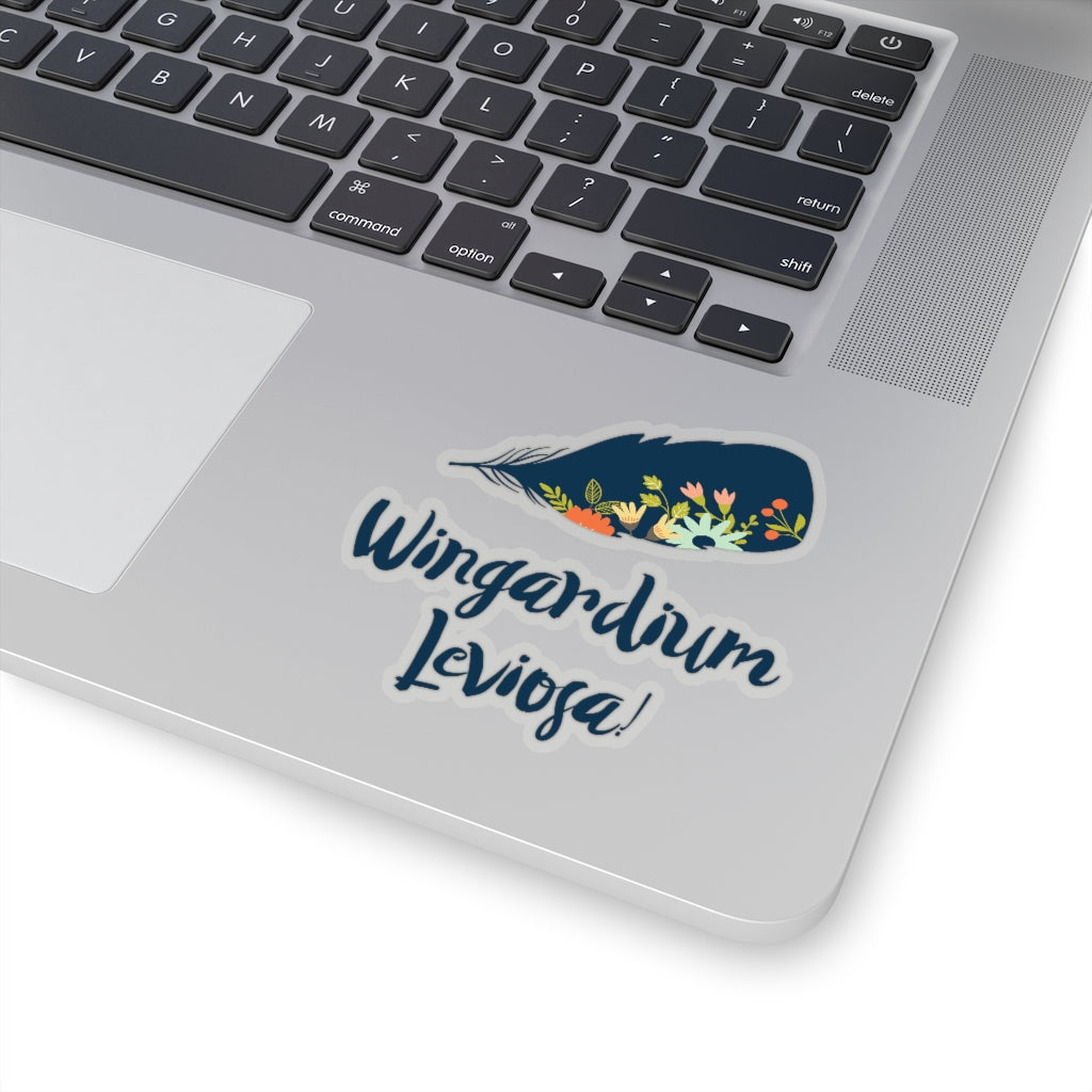 Wingardium Leviosa! Harry Potter Spell Sticker - LitLifeCo.