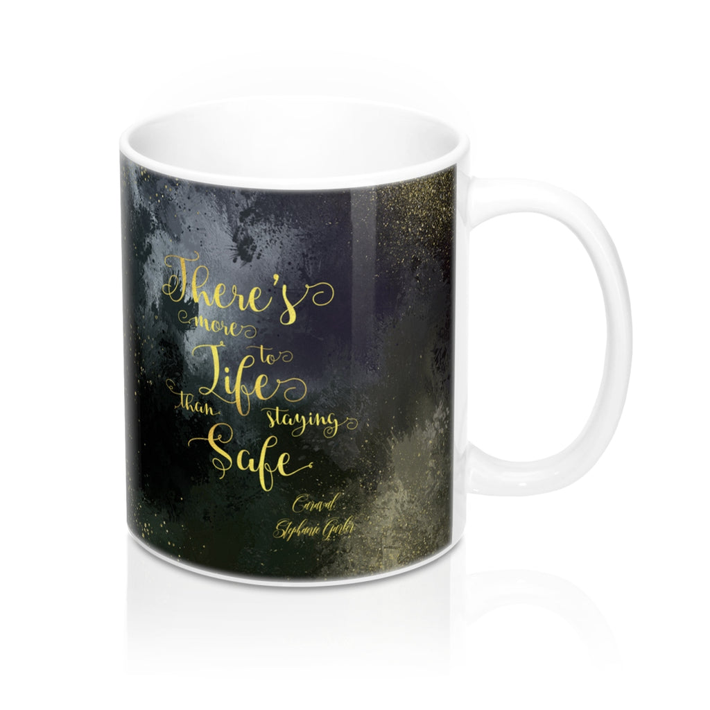 There's more to life... Caraval Quote Mug - LitLifeCo.