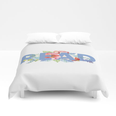 READ Floral Duvet Cover