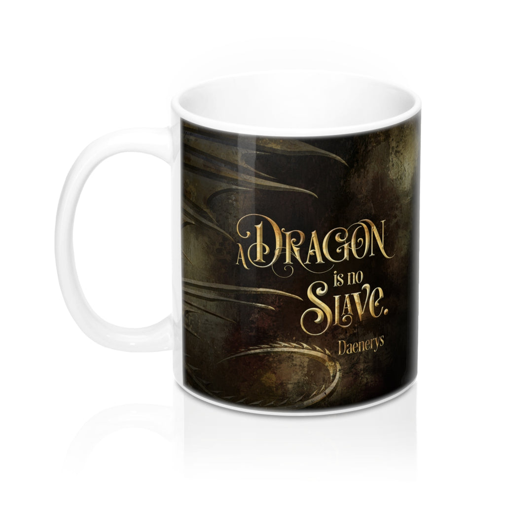 A dragon... Daenerys. Game of Thrones (A Song of Ice and Fire) Quote Mug - LitLifeCo.