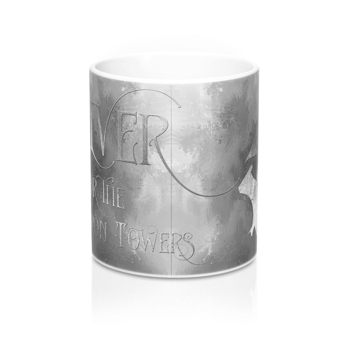 SILVER for the demon towers. Shadowhunter Children's Rhyme Mug - LitLifeCo.