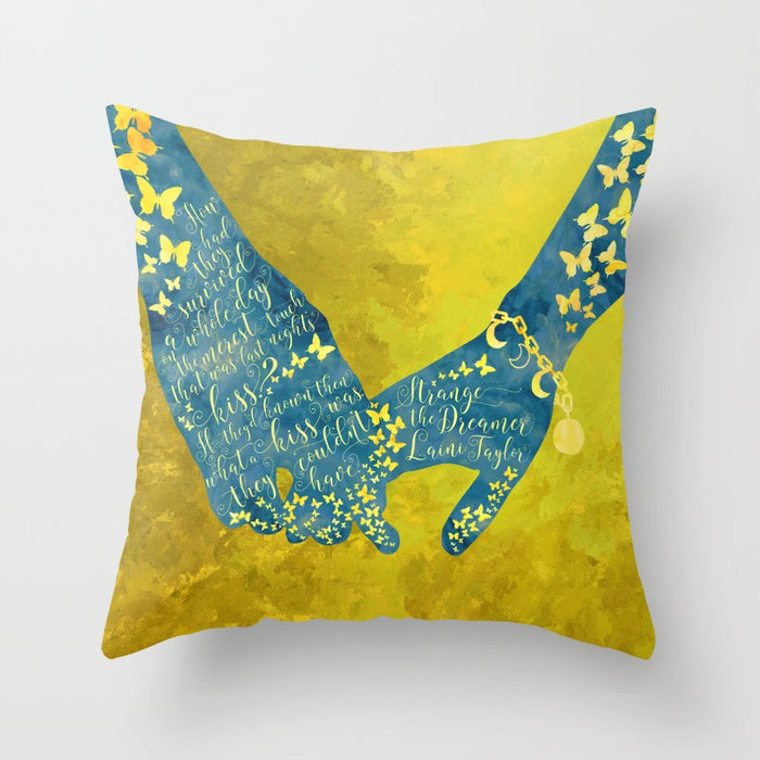 How had they survived... Strange the Dreamer Quote Pillow - LitLifeCo.
