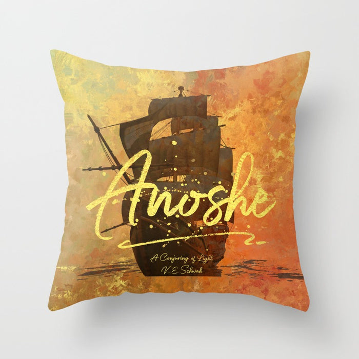 Anoshe. A Conjuring of Light Quote Pillow - LitLifeCo.
