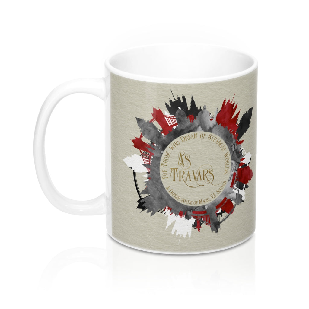 As Travars. A Darker Shade of Magic (ADSOM) Quote Mug - LitLifeCo.