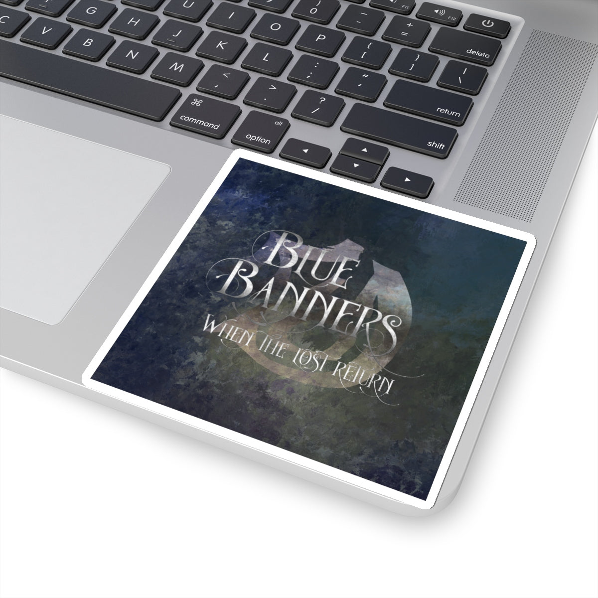BLUE BANNERS when the lost return. Shadowhunter Children's Rhyme Sticker - LitLifeCo.