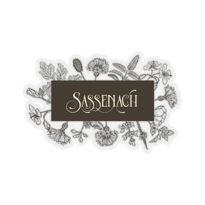 Sassenach in Sepia Sticker - LitLifeCo.
