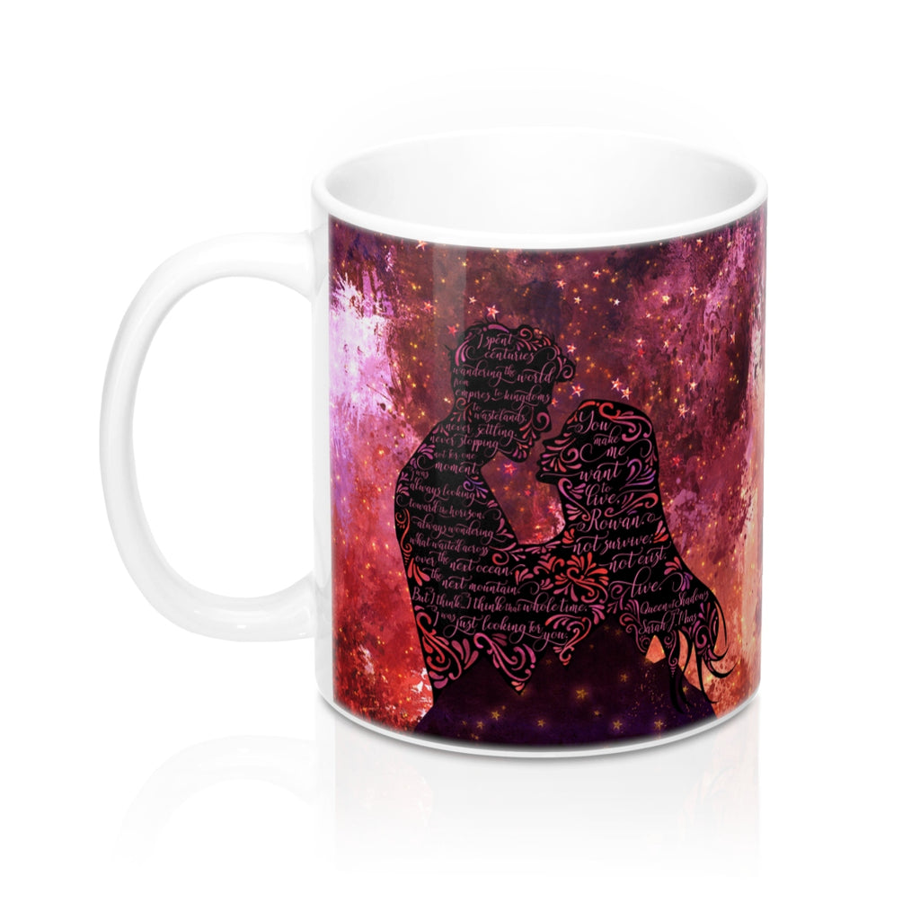 I spent centuries... Queen of Shadows (Throne of Glass Series) Quote Mug - LitLifeCo.