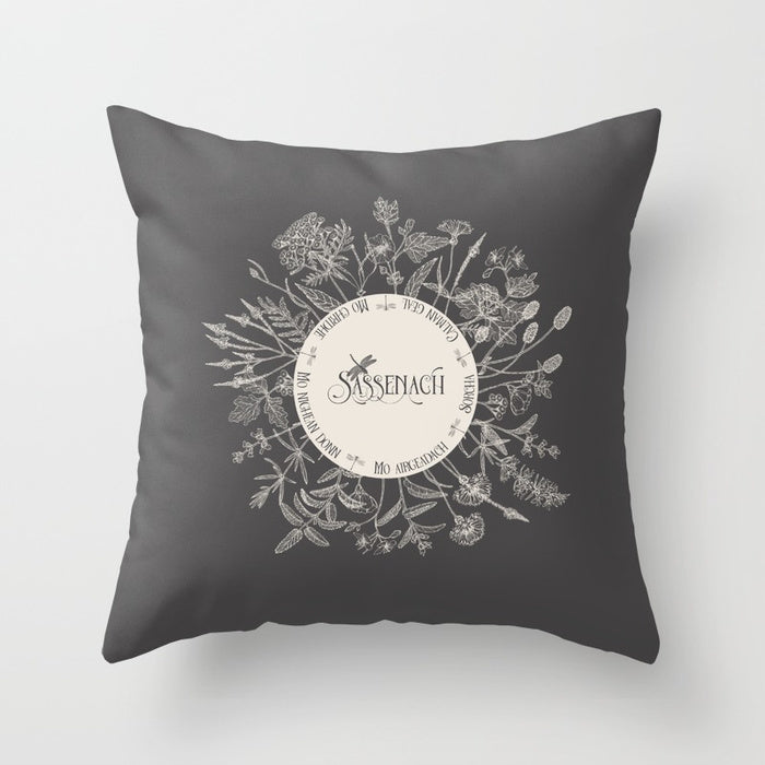 Dear SASSENACH Pillow - LitLifeCo.