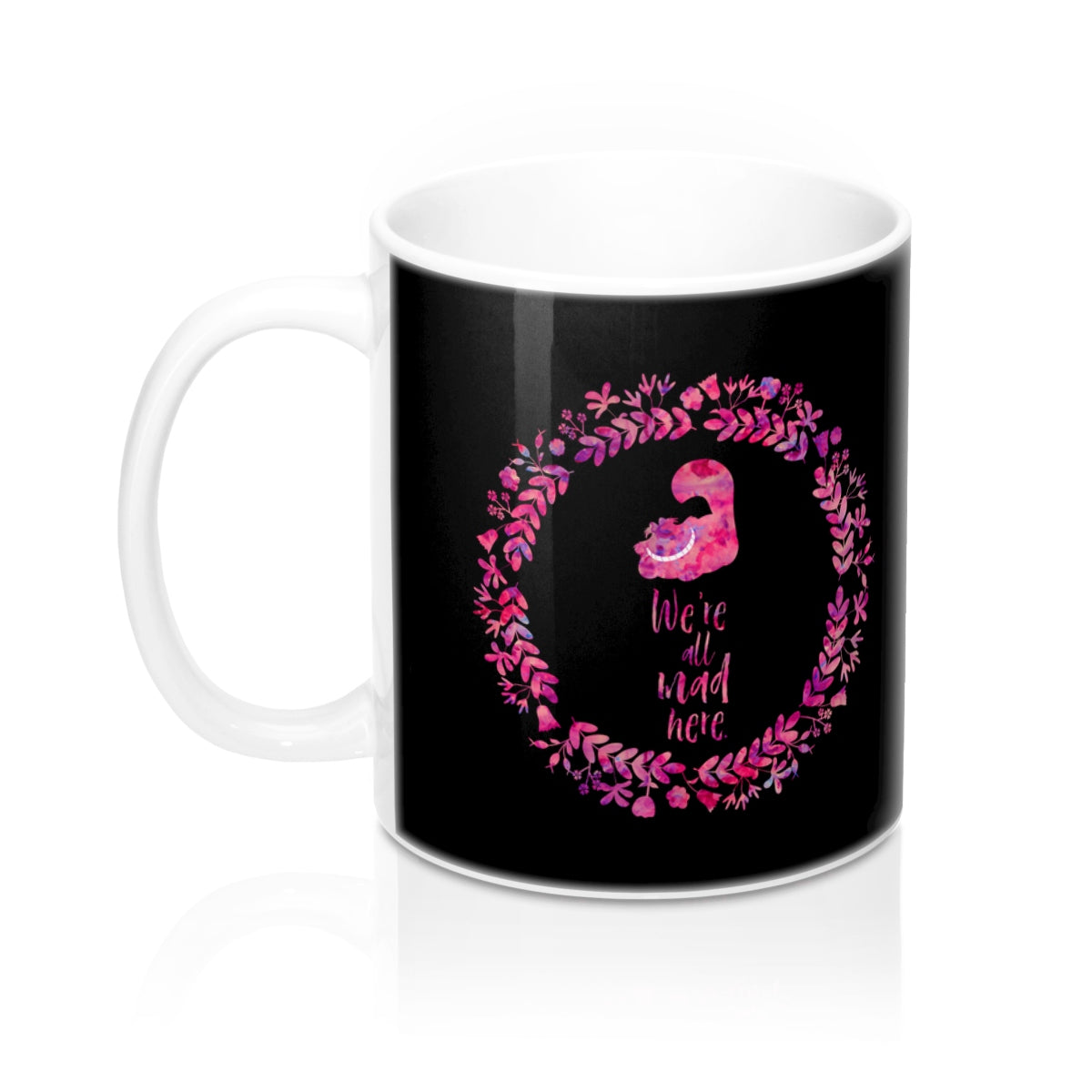 We're all mad here. Alice in Wonderland Mug - LitLifeCo.