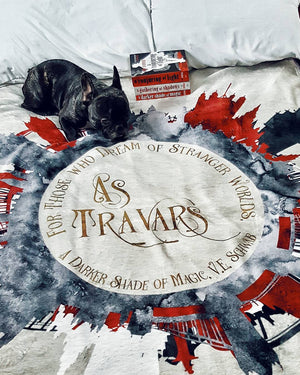 As travars. A Darker Shade of Magic (ADSOM) Throw Blanket - LitLifeCo.