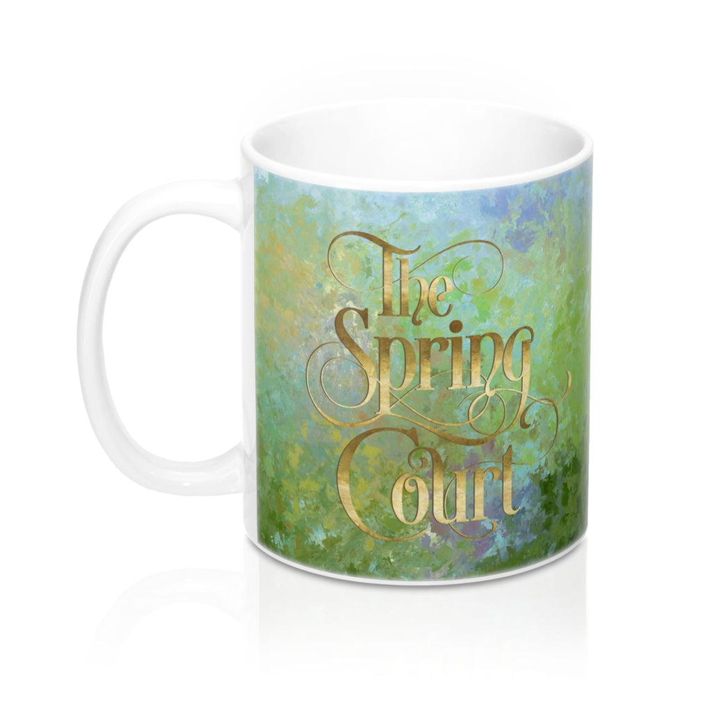 The Spring Court Mug - LitLifeCo.