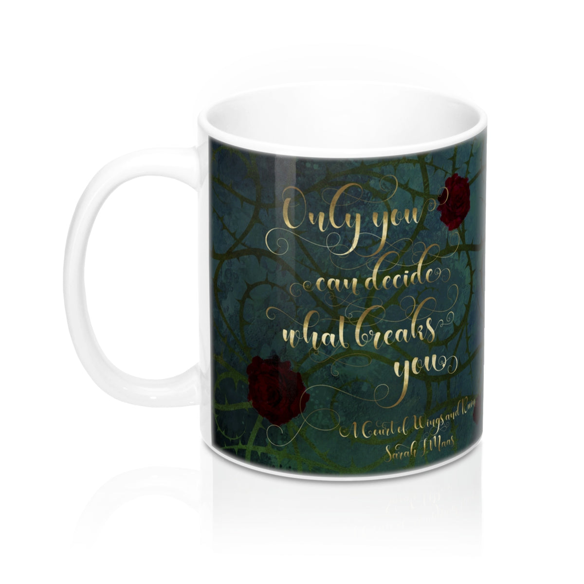 Only you can decide... A Court of Wings and Ruin (ACOWAR) Quote Mug - LitLifeCo.