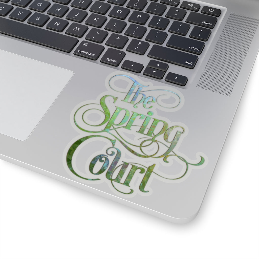The Spring Court Sticker - LitLifeCo.