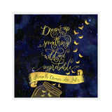 Dream up something wild... Strange the Dreamer Quote Sticker - LitLifeCo.