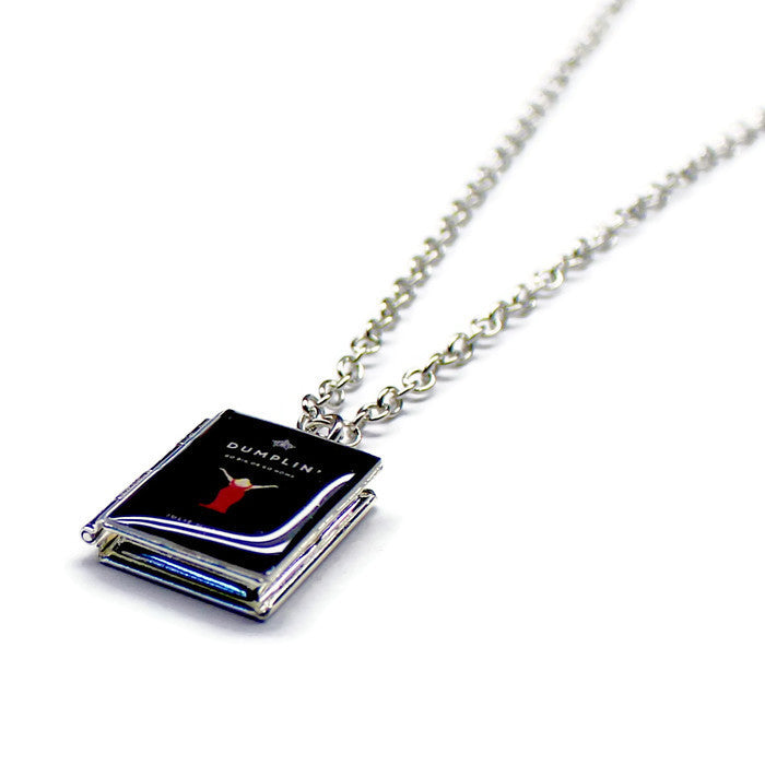 Dumplin' Book Necklace - LitLifeCo.