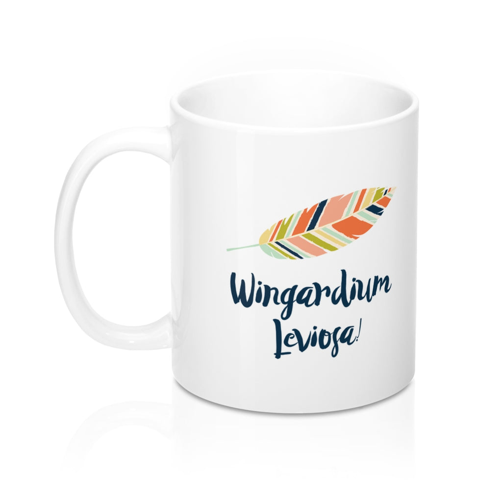 Wingardium Leviosa! (Multicolor) Harry Potter Spell Mug - LitLifeCo.