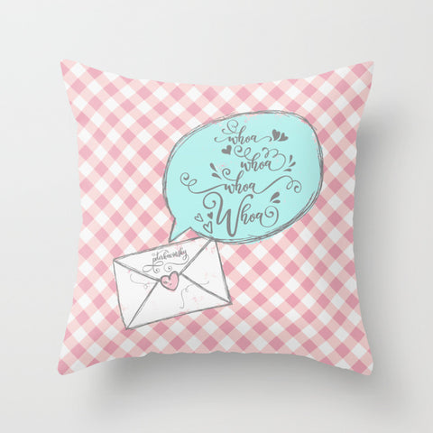 Whoa whoa whoa whoa! Peter Kavinsky Quote Pillow