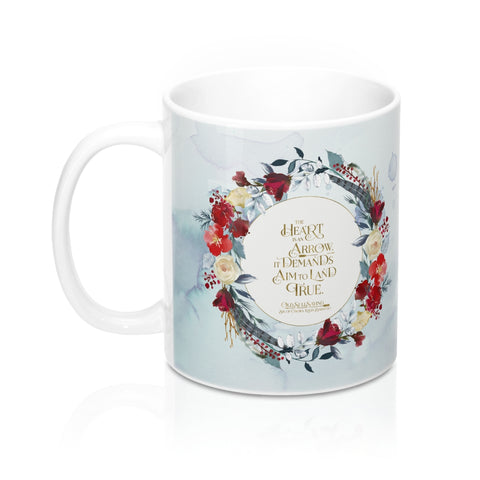 The heart is an arrow... Six of Crows Quote Mug - LitLifeCo.