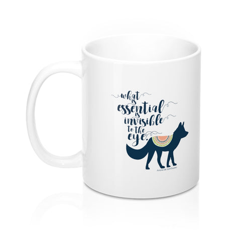 What is essential... The Little Prince Quote Mug