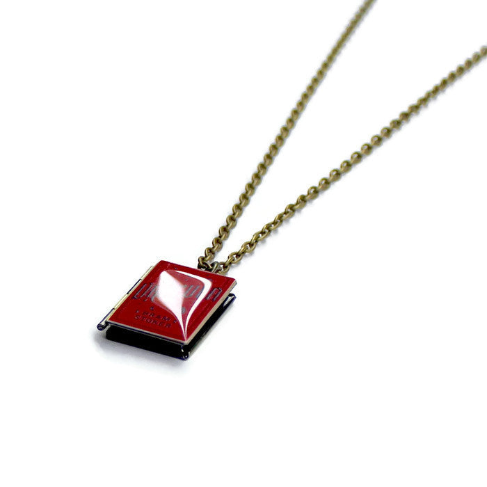 Dracula Book Necklace - Literary Lifestyle Company