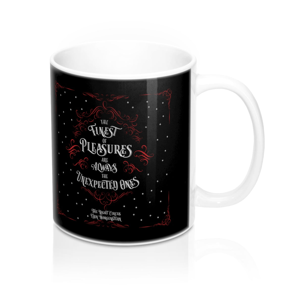 The finest of pleasures... The Night Circus Quote Mug - LitLifeCo.
