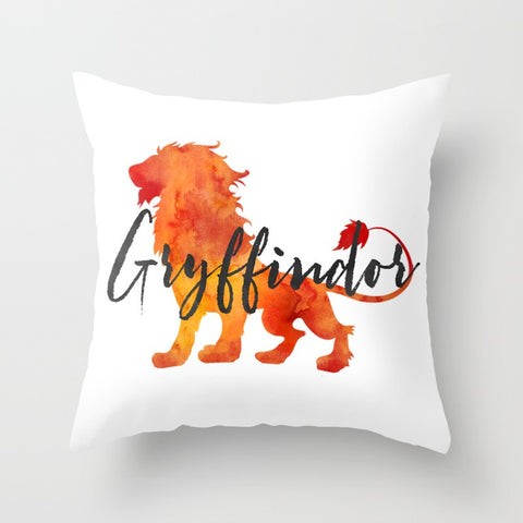 Gryffindor Hogwarts House Pride Pillow