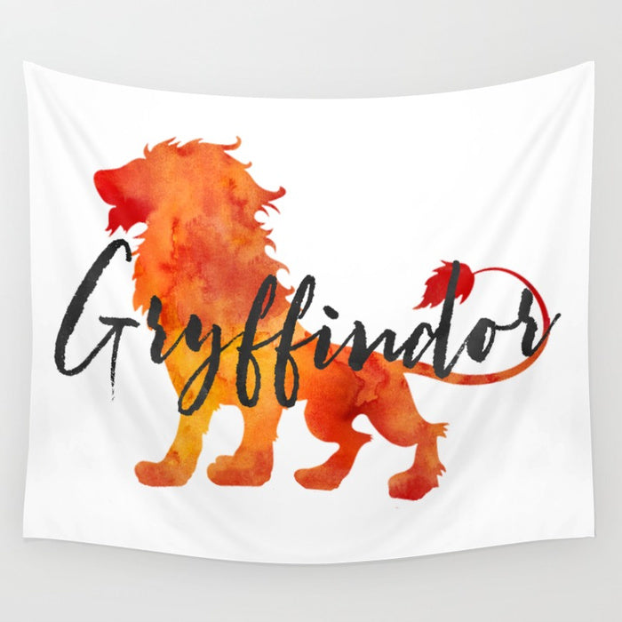 Gryffindor Hogwarts House Pride Wall Tapestry