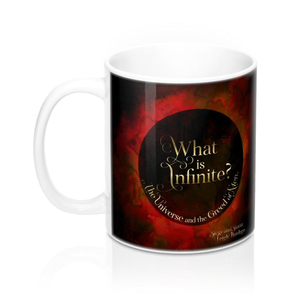 What is infinite... Siege and Storm Quote Mug - LitLifeCo.