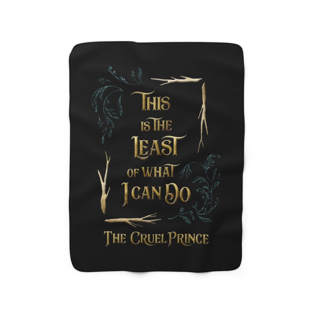 This is the least... Jude Duarte Throw Blanket