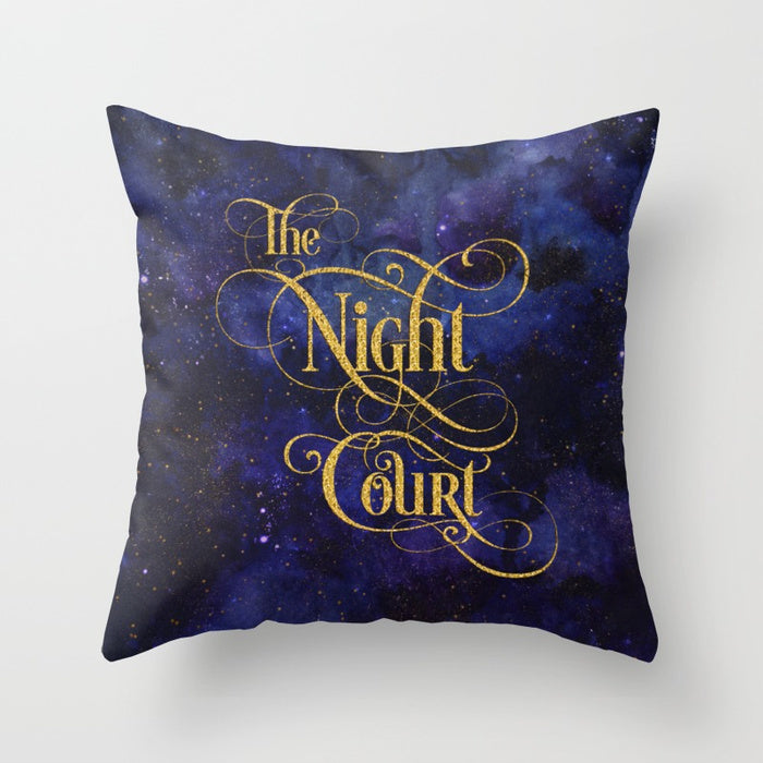 The Night Court Pillow - LitLifeCo.