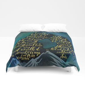 The wait was worth it. A Court of Wings and Ruin (ACOWAR) Quote Duvet Cover - LitLifeCo.