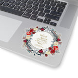 The heart is an arrow... Six of Crows Quote Sticker - LitLifeCo.