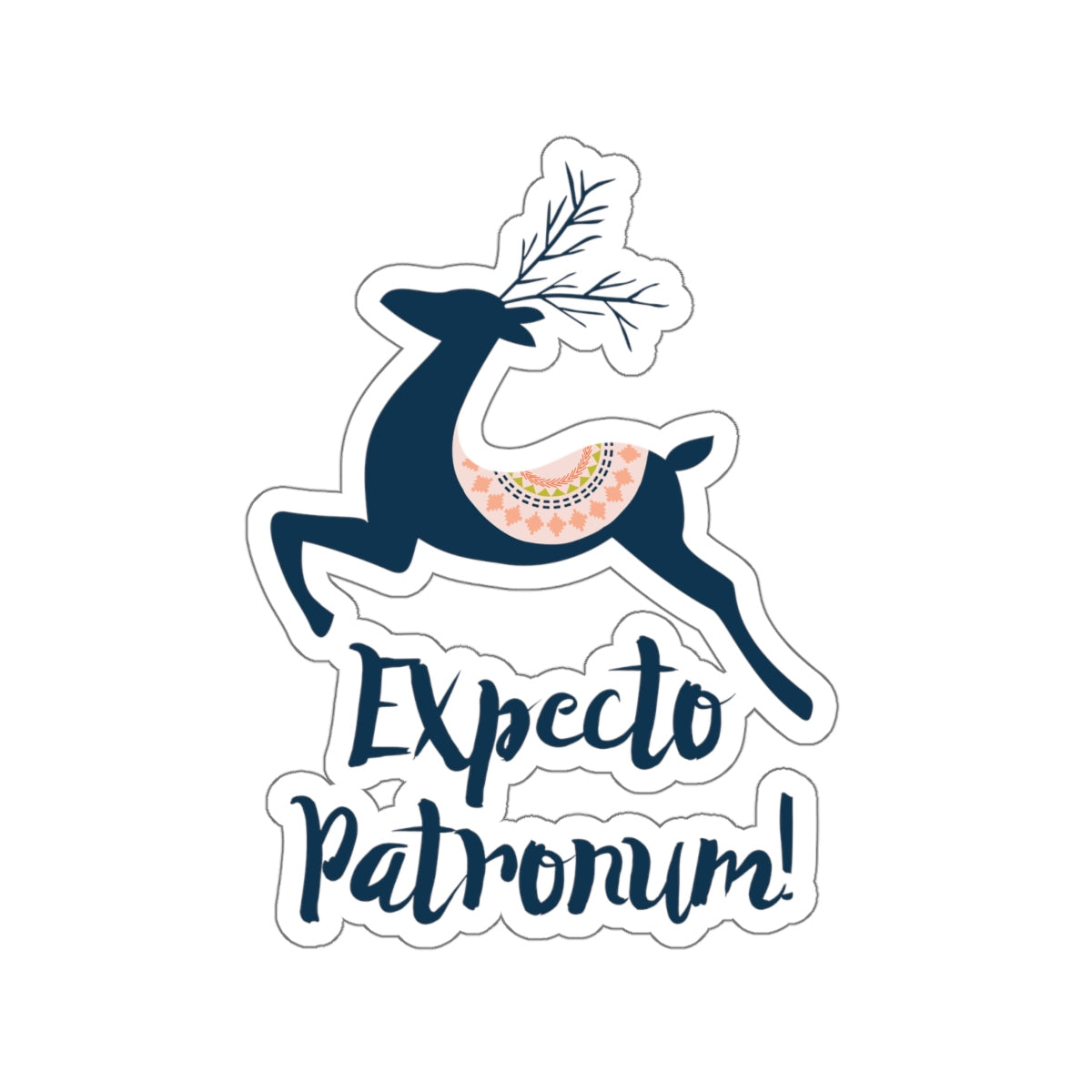 Expecto Patronum! Harry Potter Spell Sticker - LitLifeCo.