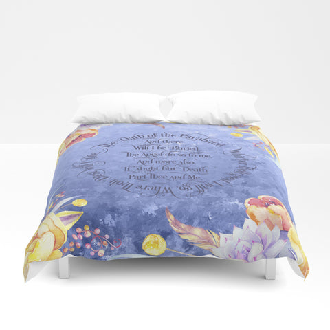 The Oath of the Parabatai Duvet Cover - LitLifeCo.