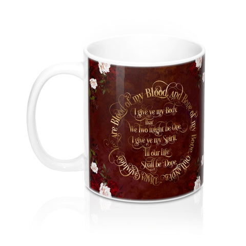 Outlander Wedding Vows Mug - LitLifeCo.