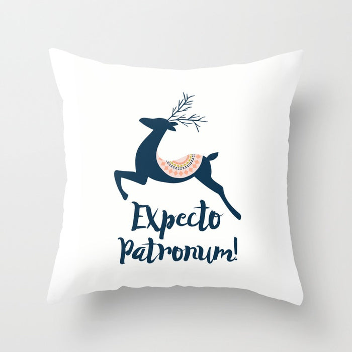 Expecto Patronum! Harry Potter Spell Pillow - LitLifeCo.