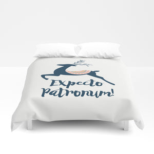 Expecto Patronum! Harry Potter Spell Duvet Cover - LitLifeCo.