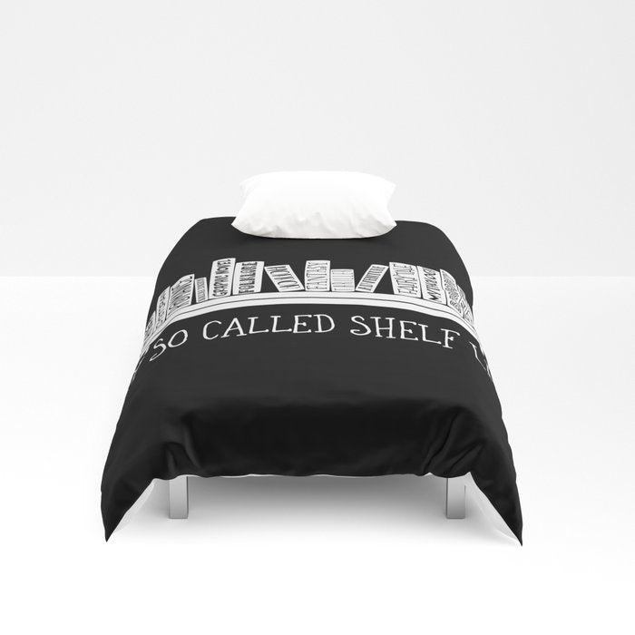 My So Called Shelf Life Duvet Cover - LitLifeCo.