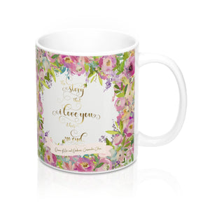 The story that I love you... Rosemary Herondale. Queen of Air and Darkness Quote Mug - LitLifeCo.