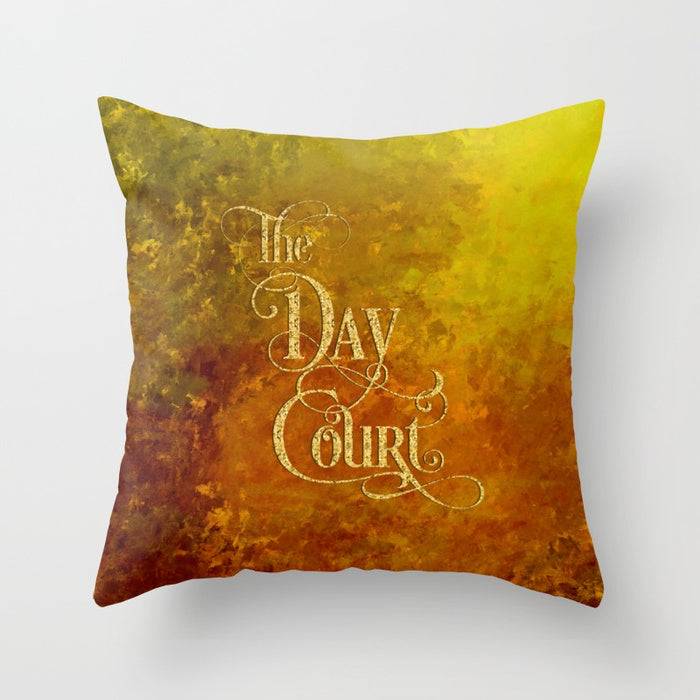 The Day Court Pillow - LitLifeCo.