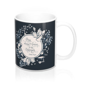 It has always been forever... Jamie Fraser Quote Mug - LitLifeCo.