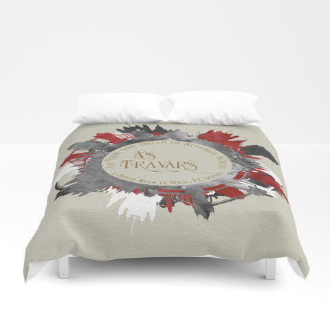 As travars. For those who dream of stranger worlds. A Darker Shade of Magic (ADSOM) Quote Duvet Cover - LitLifeCo.