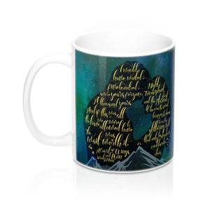 The wait was worth it. A Court of Wings and Ruin (ACOWAR) Quote Mug - LitLifeCo.